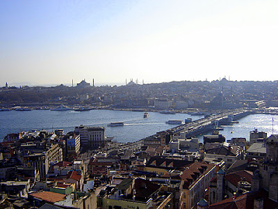 турция истанбул мост галата
