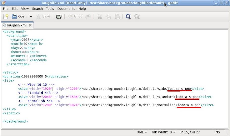 Edited Laughlin XML File