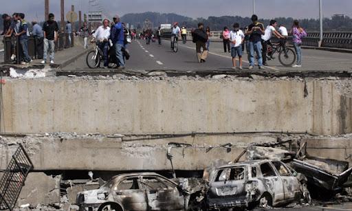 Fuerte terremoto en Chile