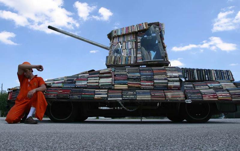 El tanque de los libros