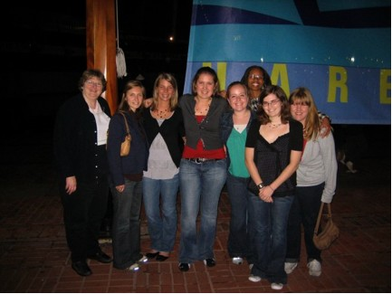 MSU SWE Members at SWE National Conference 2008 in Baltimore, MD