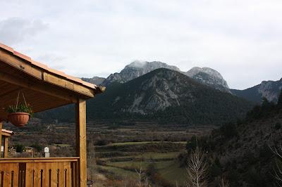 El Pedraforca desde Gósol