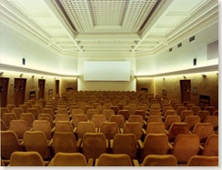 La sala del cine Astra, donde vi la pelîcula