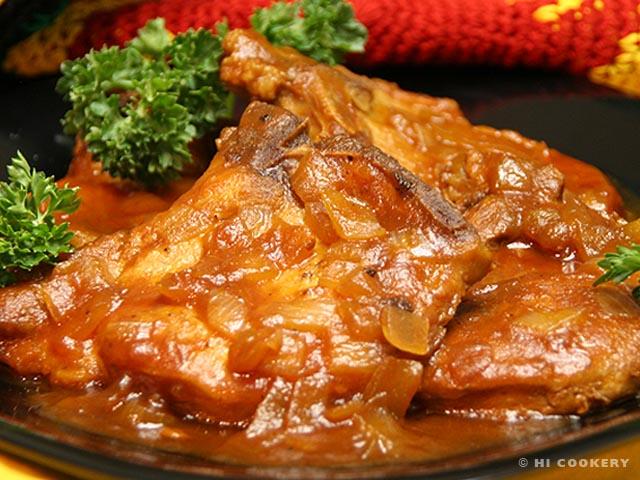 St. Iago Pork Chops