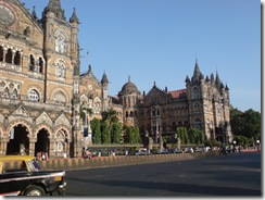 VT rail station Mumbai