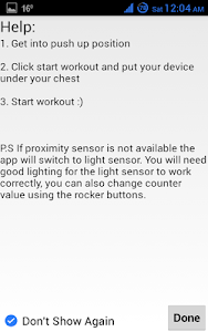 Push Ups Counter screenshot 4