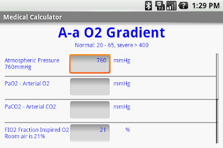 Medical Calculator screenshot 1