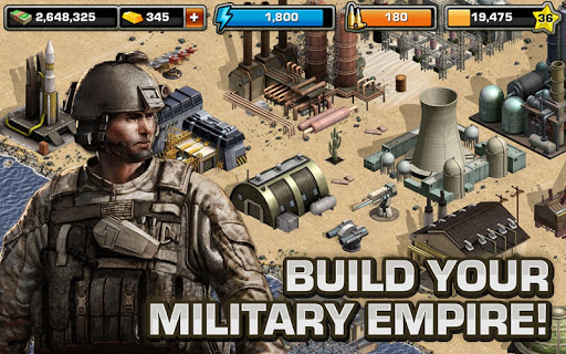 Modern War by GREE screenshot 06