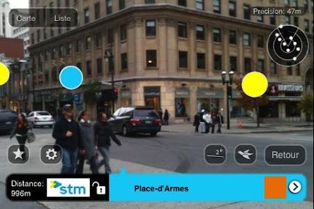 Montreal Metro AR screenshot 0