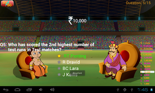 Cricket Quiz with Bheem screenshot 9