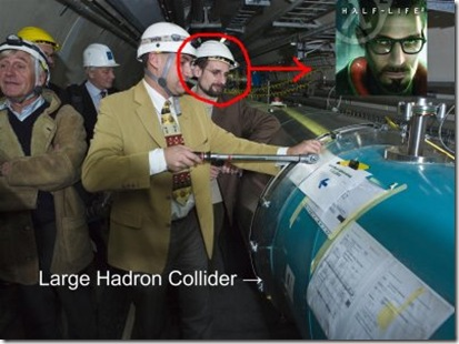 Gordon Freeman Spotted At CERN