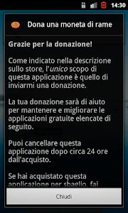 Donate a copper piece screenshot 1