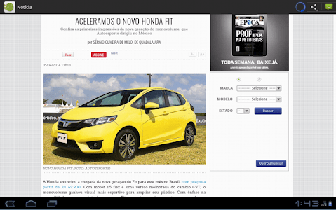 Carros e motos - Notícias screenshot 8