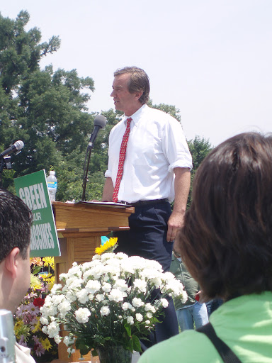 RFK Jr. in D.C. Green our Vaccines Rally 2008