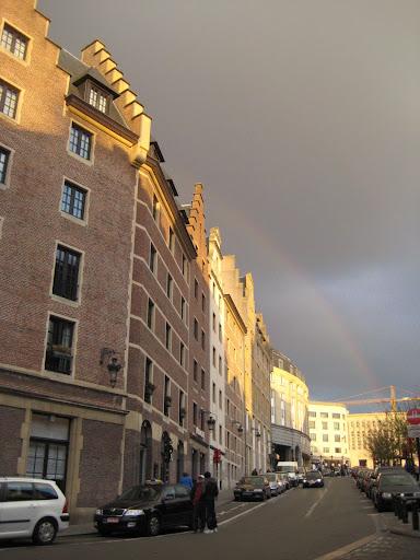 Arcobaleno a Bruxelles