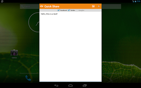 Quick Social (DEMO) screenshot 8