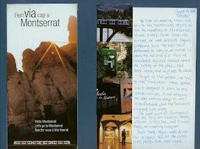 Montserrat Spain scrapbook scrapbooking