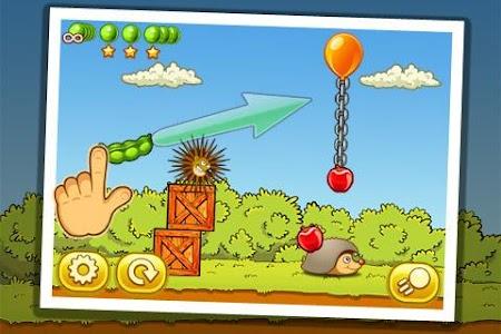 Hedgehog – Lost apples screenshot 1