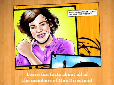Fame: One Direction Comic Book screenshot 9