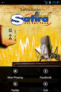 Safira Radio screenshot 1