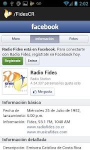 Radio Fides screenshot 3
