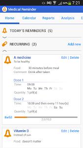 Medical Reminder screenshot 3