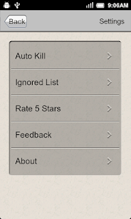 Task Killer screenshot 01