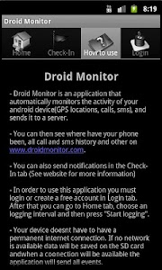 Droid Monitor - Tracking App 2 screenshot 4