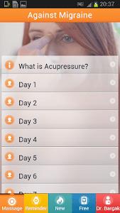 Acupresssure Against Migraine screenshot 5