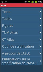 IASLC Staging Atlas - French screenshot 1