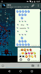Food Art - Emoji Keyboard🍬🍭 screenshot 1