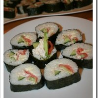 Homemade Sushi - my first attempt