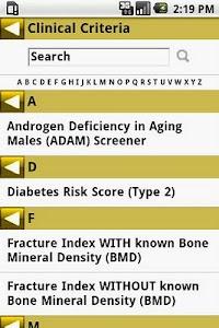 MedCalc 3000 Endocrine screenshot 3