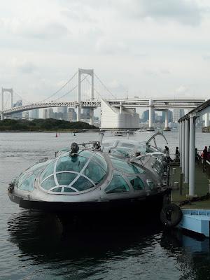 Himiko en Odaiba