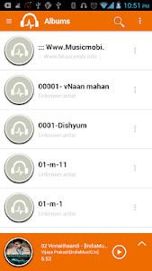 Sensitive Music Player Pro screenshot 1