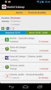 Madrid Subway Off-Line screenshot 1