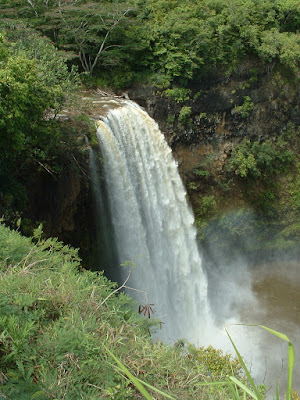 Wailua Falls - You might recognize it as the waterfall from Fantasy Island.