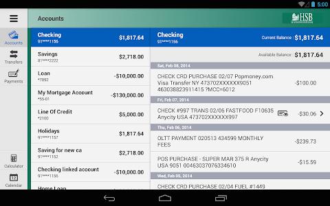 Huntington State Bank Tablet screenshot 2