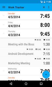 Work Tracker screenshot 0