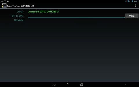 Prolific PL2303 USB-UART screenshot 2