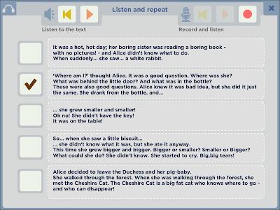 Alice in Wonderland - ELI screenshot 2
