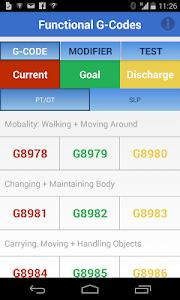 Functional G-Codes (PT/OT/SLP) screenshot 0