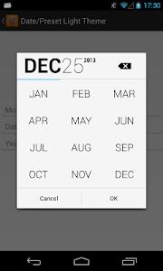 BetterPickers Samples - OLD screenshot 1
