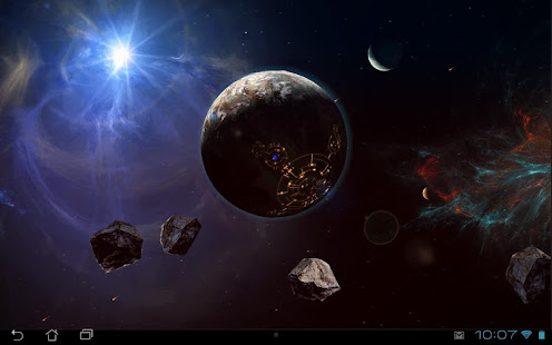 Space Symphony 3D Pro LWP - Apps on Google Play