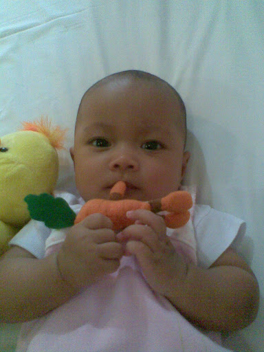 Nadine 4th month