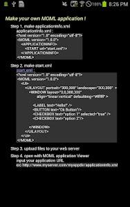 MOML Application Viewer(devel) screenshot 4