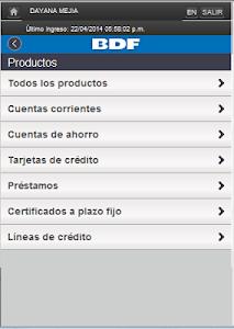 iBDF Móvil screenshot 9