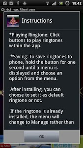 Christmas Ringtone screenshot 0