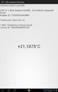 1-Wire-Demo screenshot 1