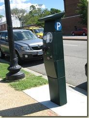 DC's new multispace meter on M Street